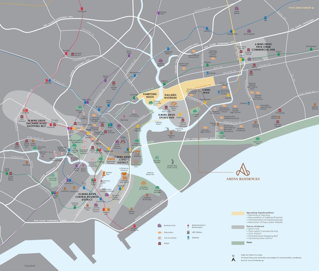 arena-residences-location-map-singapore