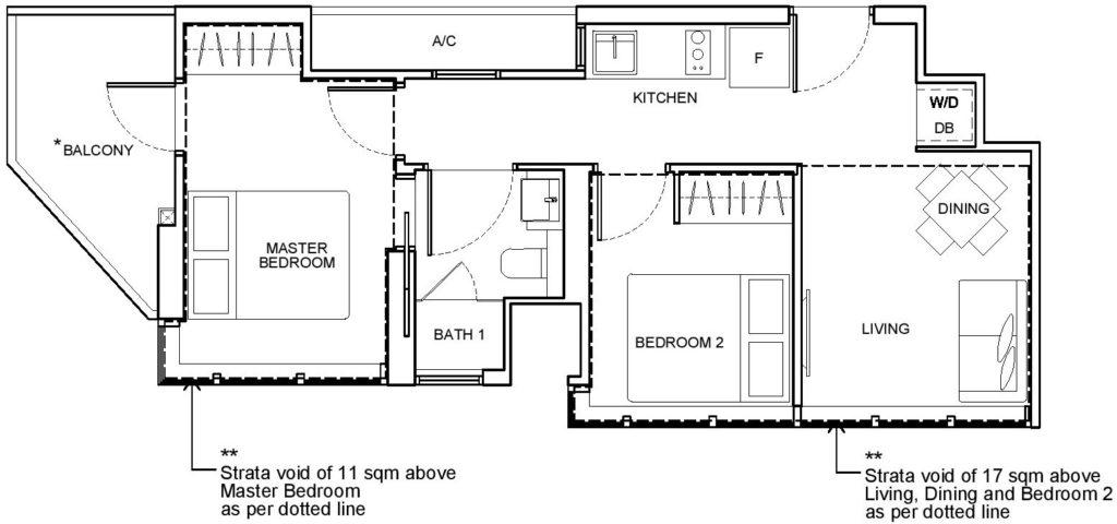 Arena Residences (Freehold) - Floor